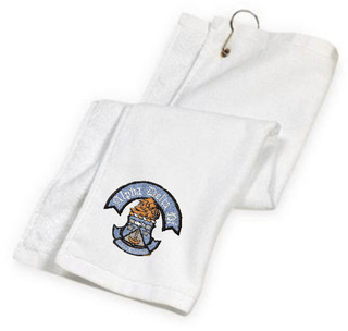 DISCOUNT-Fraternity & Sorority Greek Golf Towel