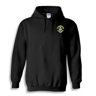 Fraternity & Sorority Greek Crest Emblem Hooded Sweatshirt