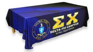 Fraternity & Sorority Greek Tablecloths