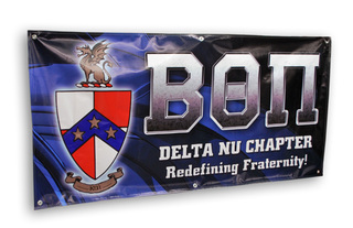 Fraternity & Sorority Greek Vinyl Banner
