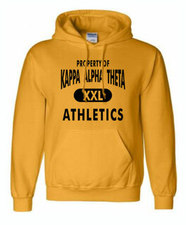 "Fraternity & Sorority ""Property Of Athletics"" Hoodie"