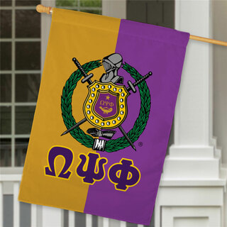 Fraternity Crest House Flag