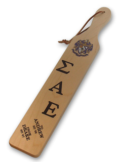 Fraternity & Sorority Big/Lil' Paddle