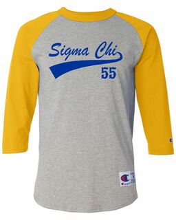 Fraternity & Sorority Tail Est. Raglan