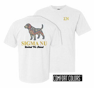 Fraternity United We Stand Comfort Colors Tee