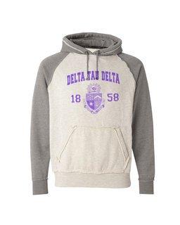 Fraternity Vintage Heather Hooded Sweatshirt