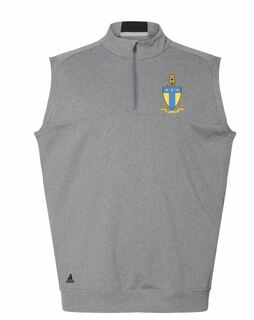 DISCOUNT-ADIDAS Fraternity Crest - Shield Golf Vest