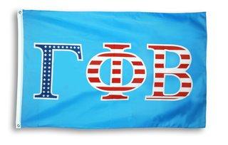 Gamma Phi Beta 3 X 5 USA Flag