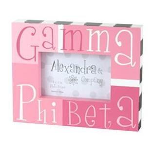 Gamma Phi Beta Block Picture Frames