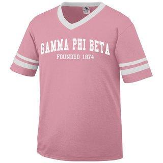 Gamma Phi Beta Boyfriend Style Founders Jersey