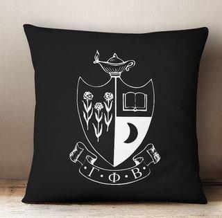 Gamma Phi Beta Crest - Shield Colored Pillow
