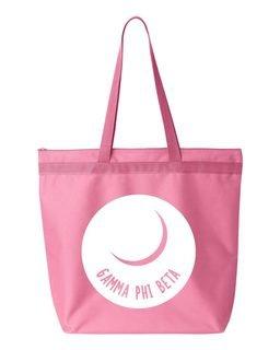 Gamma Phi Beta Circle Mascot Tote bag