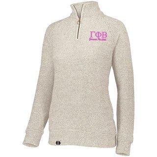 Gamma Phi Beta Cuddly 1/4 Zip Pullover