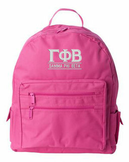 Gamma Phi Beta Custom Text Backpack