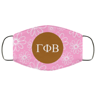 Gamma Phi Beta Daisies Face Mask