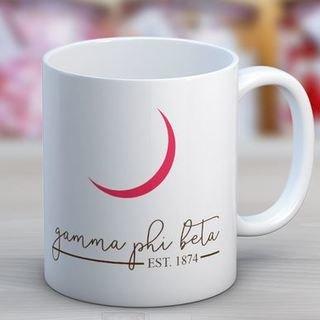 Gamma Phi Beta Established Coffee Mug