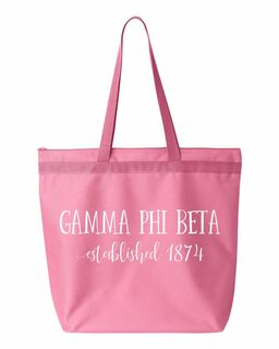 Gamma Phi Beta Established Tote bag