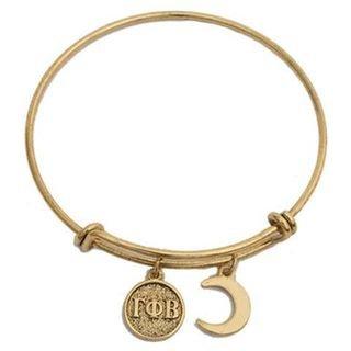 Gamma Phi Beta Expandable Bracelet