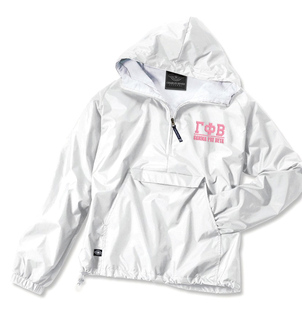 Gamma Phi Beta Greek Letter Anoraks