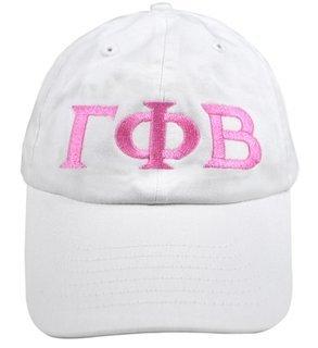 Gamma Phi Beta Greek Letter Hat
