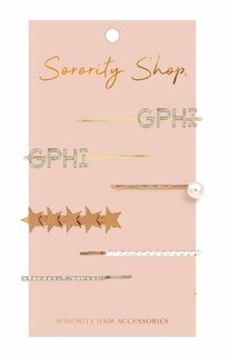 Gamma Phi Beta Hair Clips