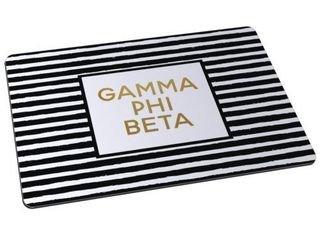Gamma Phi Beta Striped Mousepads