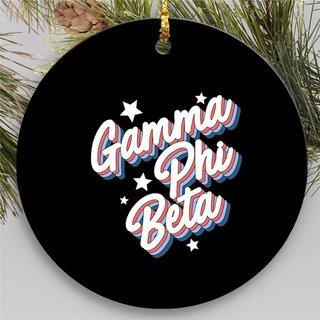 Gamma Phi Beta Holiday Flashback Ornaments