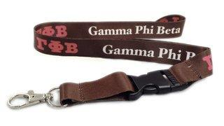 Gamma Phi Beta Lanyard