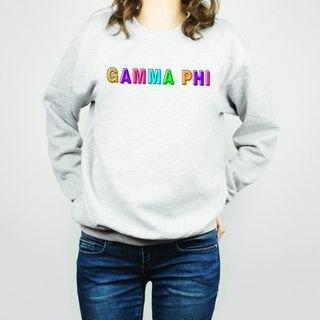 Gamma Phi Beta Leah Crew Sweatshirt