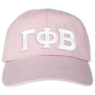 Gamma Phi Beta Lettered Premium Pastel Hat