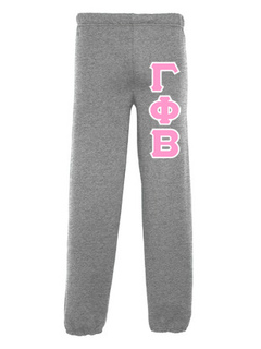 Gamma Phi Beta Lettered Sweatpants