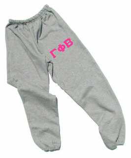 Gamma Phi Beta Lettered Thigh Sweatpants