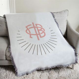 Gamma Phi Beta Logo Afghan Blanket Throw