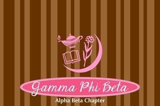 Gamma Phi Beta Mascot Tablecloth