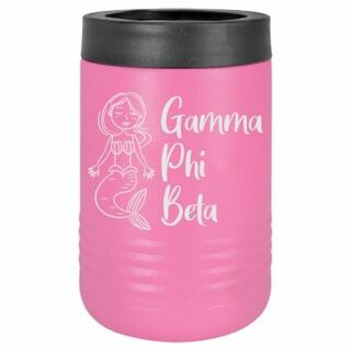 Gamma Phi Beta Mermaid Stainless Steel Beverage Holder