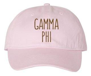 Gamma Phi Beta Mod Comfort Colors Pigment Dyed Baseball Cap