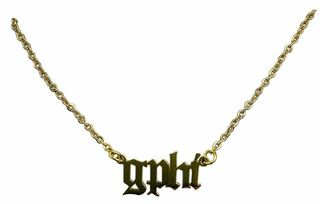 Gamma Phi Beta Old English Necklaces
