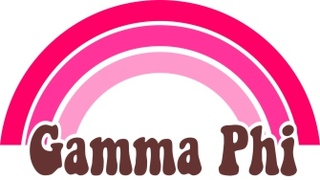Gamma Phi Beta Rainbow Decals