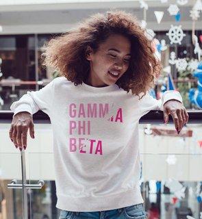Gamma Phi Beta Ripped Favorite Crewneck
