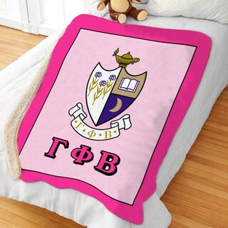 Gamma Phi Beta Sherpa Lap Blanket
