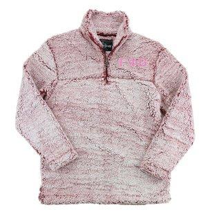 Gamma Phi Beta Sherpa Quarter Zip Pullover