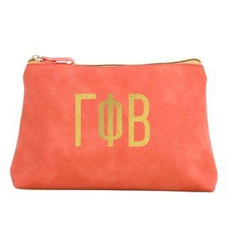 Gamma Phi Beta Sorority Cosmetic Bag