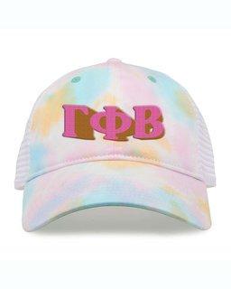Gamma Phi Beta Sorority Sorbet Tie Dyed Twill Hat
