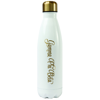 Gamma Phi Beta Stainless Steel Shimmer Water Bottles