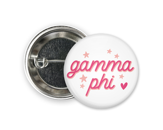 Gamma Phi Beta Star Button