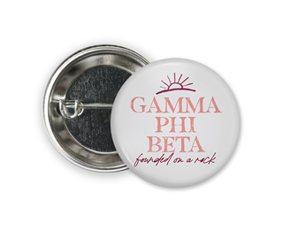 Gamma Phi Beta Sun Button