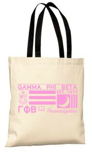Gamma Phi Beta Symbol Tote Bag