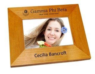 Gamma Phi Beta Mascot Wood Picture Frame