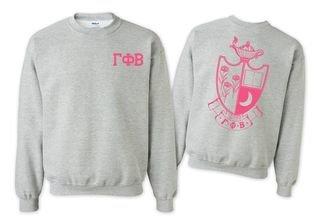 Gamma Phi Beta World Famous Crest - Shield Crewneck Sweatshirt- $25!