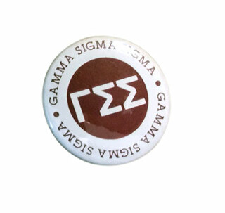 Gamma Sigma Sigma Button Circle